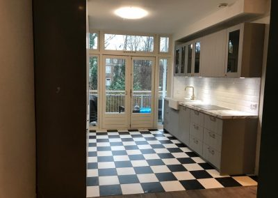 project in Amsterdam nieuwe keuken